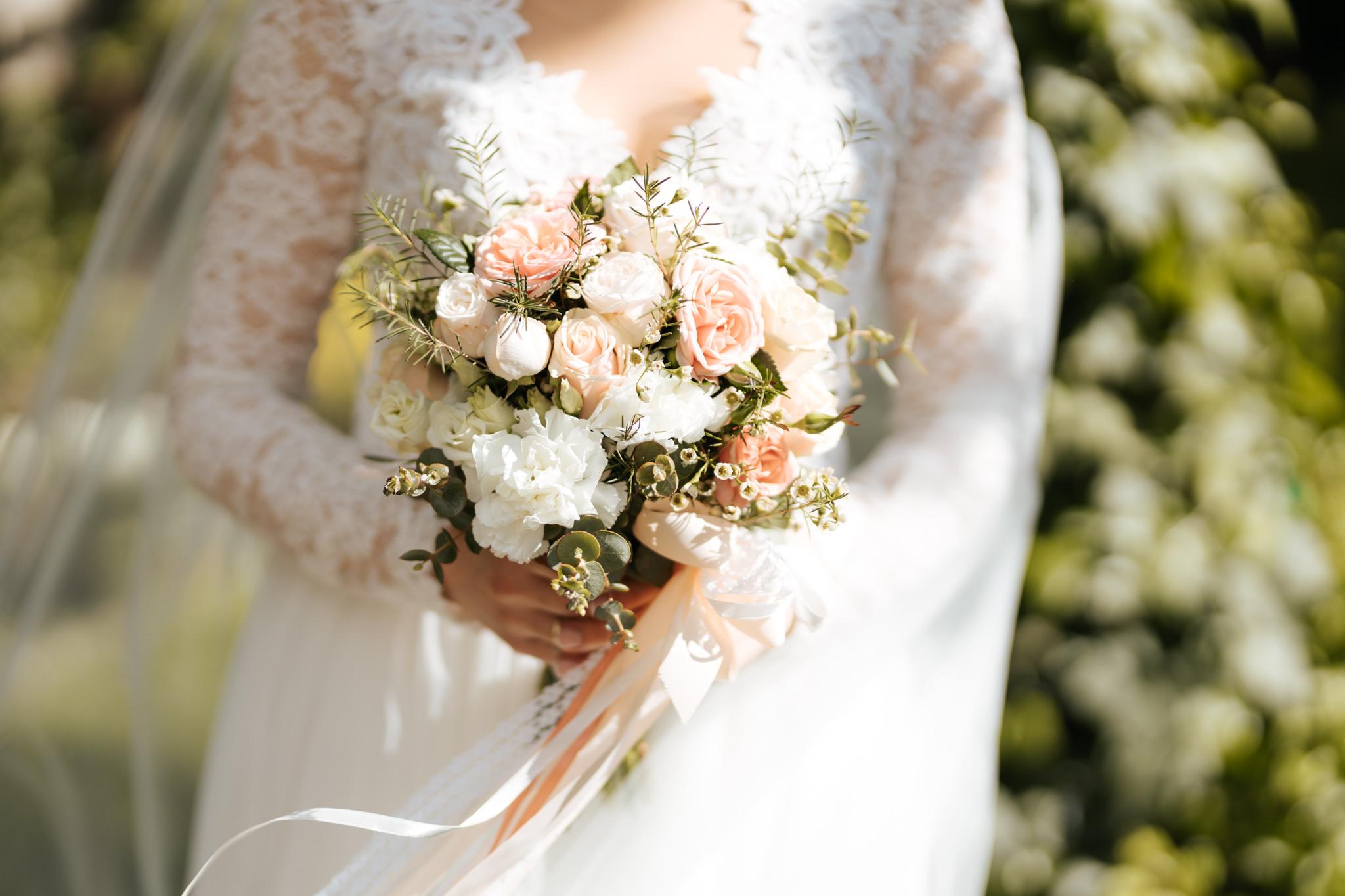 bukiet ślubny kwiaty ślubne